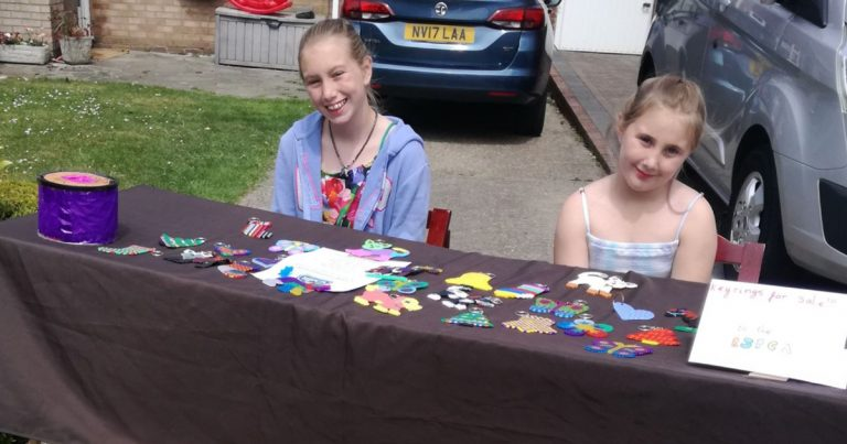 Young residents of Istead Rise get creative to fundraise for charity